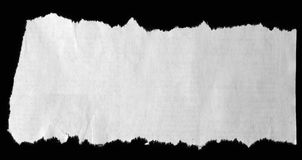 Torn paper Stock Image