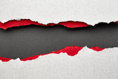 Torn paper with place for text Royalty Free Stock Image