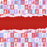 Torn paper presents pattern Royalty Free Stock Photos