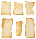 Torn paper set. Royalty Free Stock Images