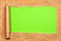 Torn Paper with space for text Royalty Free Stock Photos