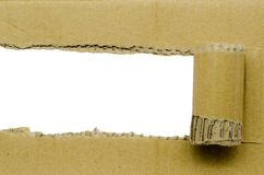 Torn Paper and space for text Royalty Free Stock Photos