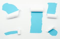 Torn Paper and space for text Royalty Free Stock Photo