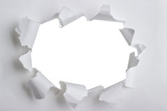 Torn paper with space for your message Royalty Free Stock Photo