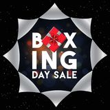 Torn paper style poster or flyer design for Boxing Day Sale concept. Torn paper style poster or flyer design for Boxing Day Sale concept stock illustration