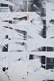 Torn paper texture. Glued on a wall stock photos