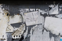 Torn Paper Wall Stock Image