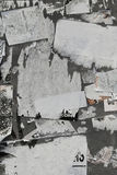 Torn Paper Wall stock images