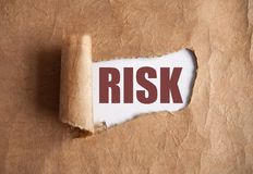 Risk uncovered Royalty Free Stock Photo