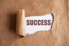 Success uncovered Stock Image
