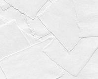 Torn pieces of paper Stock Image