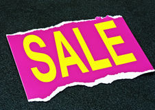 sale sign  Royalty Free Stock Photos