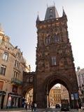 Torn Prague, Tjeckien Royaltyfri Fotografi