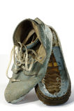 Torn shoe Royalty Free Stock Photography