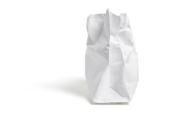 Torn Shopping Bag Stock Photography