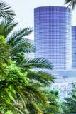 Torn som ses från boulevarden Royaltyfri Foto