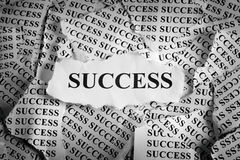 Torn Success Royalty Free Stock Photo