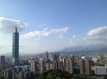 101 torn Taipei Arkivfoto
