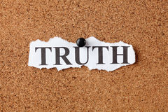 Torn Truth Royalty Free Stock Images