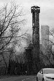 torn två moscow Royaltyfria Bilder