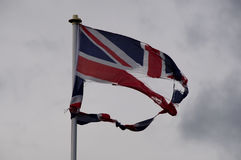 Torn Union Flag Royalty Free Stock Image