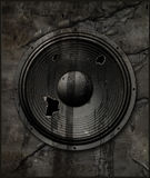 Torn up speaker Stock Photo