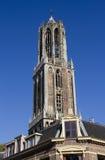 torn utrecht för dom holland Arkivbilder