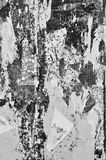 Torn wall poster texture Royalty Free Stock Photos