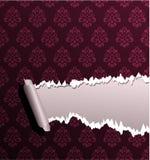 Torn wallpaper Royalty Free Stock Photos