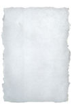 Torn white paper Stock Photography