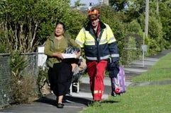 Tornade anormale à Auckland, Nouvelle Zélande image stock