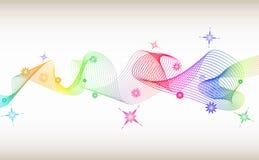 Tornade colorée Photos libres de droits