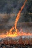 Tornade de flamme Image libre de droits