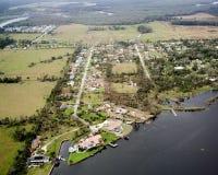 Tornade DeLand la Floride #4 Photographie stock libre de droits