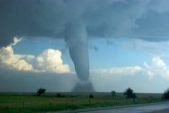Tornade et Hailstorm du sud-est du Colorado Image stock