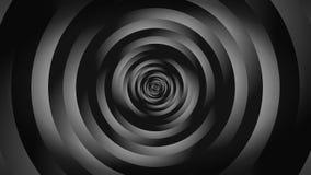 Tornade noire abstraite d'ombrage