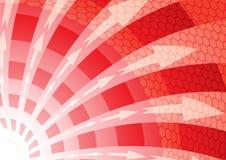 Tornade rouge Photographie stock libre de droits