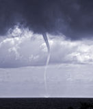 Tornado. Over sea in the Black sea Royalty Free Stock Photos
