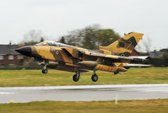 Tornado. On final approach - trial flight Royalty Free Stock Photography