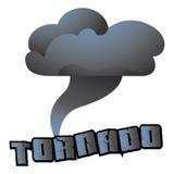 Tornado. Cartoon vector illustration of a tornado royalty free illustration