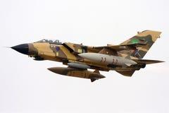 Tornado in afterburner take off Royalty Free Stock Image
