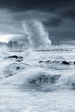 Tornado auf der Stadt Lizenzfreie Stockfotos