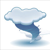 Tornado cloud Stock Photography