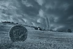 Tornado in countryside Royalty Free Stock Images