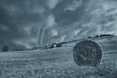 Tornado in countryside Royalty Free Stock Photos