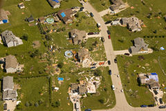 Tornado damage Stock Images