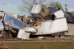 Tornado Damage Stock Image