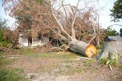 Tornado Damage Royalty Free Stock Photos