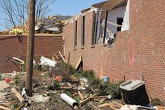 Tornado damage  1c Royalty Free Stock Photography