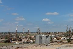 Tornado Damage As Far As The Eyes Can See Royalty Free Stock Image
